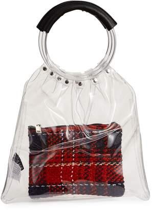 Design Lab PVC Top Handle Bag