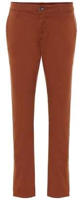 AG Jeans Caden stretch-cotton crop pants