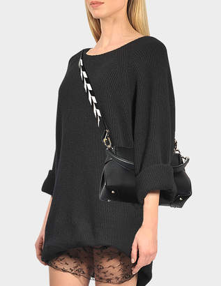 Michael Kors Miranda MD Top Lock Shoulder Bag