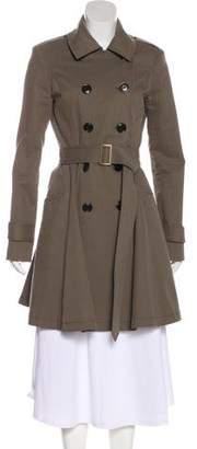 Marissa Webb Structured Knee-Length Coat