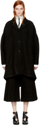 MM6 Maison Margiela Black Casentino Coat $855 thestylecure.com