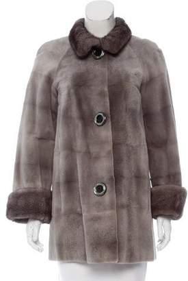 Michael Kors Sheared Mink Fur Coat