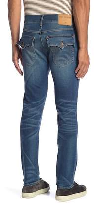 True Religion Rocco Flap Pocket Relaxed Skinny Jeans