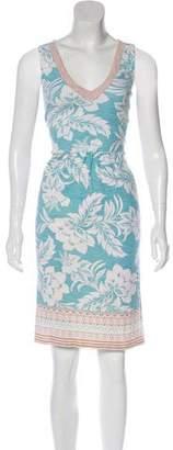 Tommy Bahama Print Knee-Length Dress