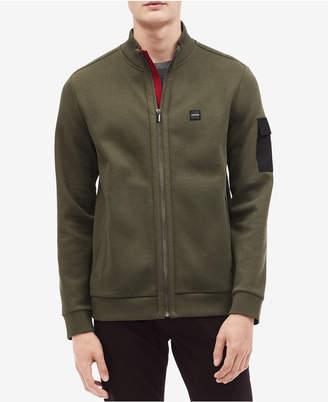 Calvin Klein Men's Front-Zip Weekend Jacket