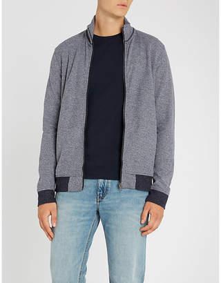 BOSS Funnel-neck knitted jumper