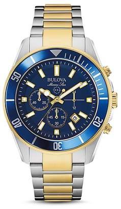 Bulova Marine Chronograph Watch, 43mm