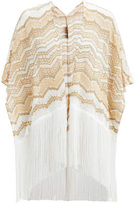 Missoni Usa Fringed Zig Zag Cover-Up