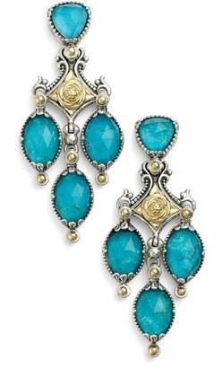 Women's Konstantino 'Iliada' Double Chandelier Earrings $1,200 thestylecure.com