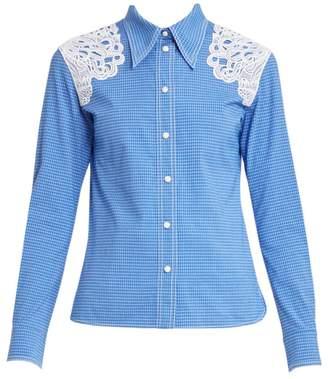 Chloé Lace Detail Western Shirt