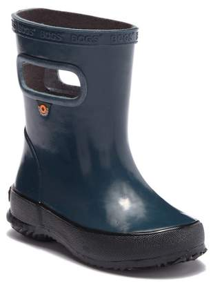 Bogs Skipper Solid Waterproof Rain Boot (Toddler & Little Kid)