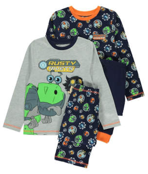 George Rusty Rivets Pyjamas 2 Pack
