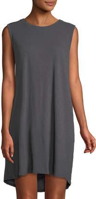 Allen Allen Sleeveless Cotton Mini Dress