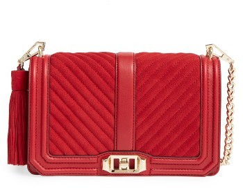 Rebecca MinkoffRebecca Minkoff Love Crossbody Bag - Red