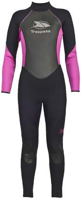 Trespass Womens/Ladies Aquaria Full Length 5mm Wetsuit (XXL)