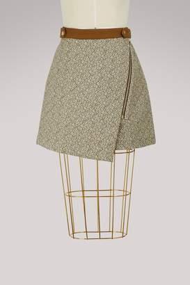 Vanessa Bruno Ely cotton mini skirt