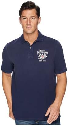 Polo Ralph Lauren Artisan Flag Pique Polo Men's Clothing