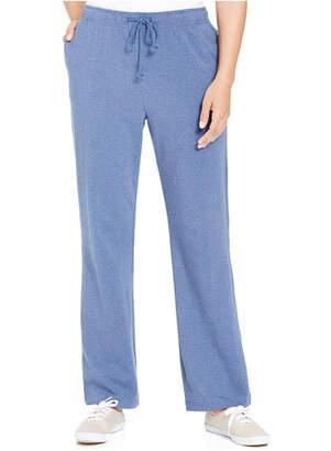 Karen Scott Petite Drawstring Active Pants, Created for Macy's