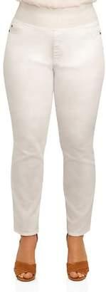Foxcroft Plus Nina Slimming Denim Leggings