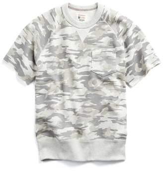 Todd Snyder + Champion Camouflage Short Sleeve Sweatshirt