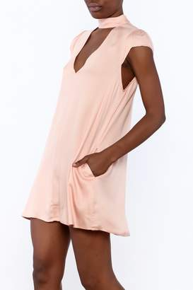 Cotton Candy Lucky Peach Dress $42 thestylecure.com