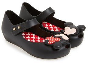 Mini Melissa 'Ultragirl - Disney Twins' Slip-On $64.95 thestylecure.com