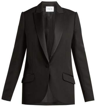 Pallas X Claire Thomson Jonville X Claire Thomson-jonville - Dante Single Breasted Blazer - Womens - Black