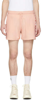 Faith Connexion Pink Kappa Edition Plain Shorts