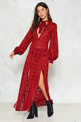 Nasty Gal Kick Maxi and Relax Floral Dress