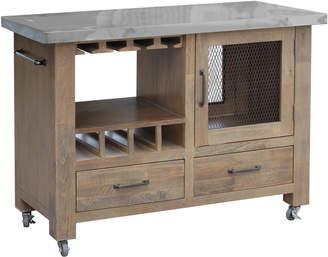 Hawthorne Home Soho Pine Kitchen Cart