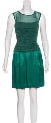 Philosophy di Alberta Ferretti Draped Mini Dress