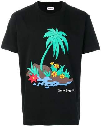 Palm Angels Palm Island T-shirt