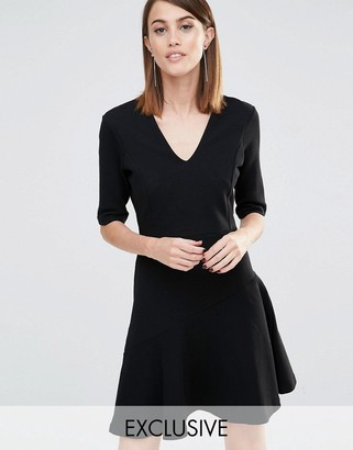 Whistles Felicity Full Skirt Dress (Exclusive) $154 thestylecure.com