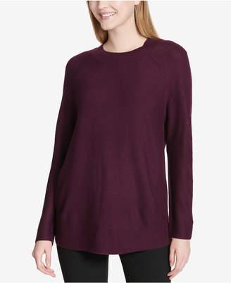 Calvin Klein Crew-Neck Dolman-Sleeve Sweater