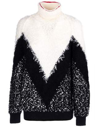 Givenchy Textured Turtleneck Sweater