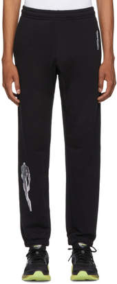 Carne Bollente Black Matrik Lounge Pants