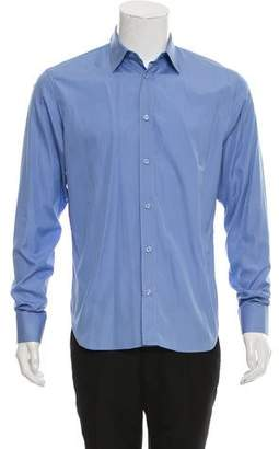 Christian Dior Woven Button-Up Shirt