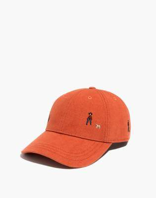 Madewell Embroidered Canvas Baseball Cap in El Rancho