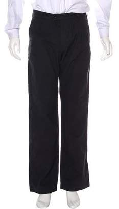 Mhl By Margaret Howell Twill Flat Front Pants