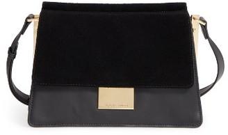 Vince Camuto 'Abril' Leather Shoulder Bag - Black $228 thestylecure.com