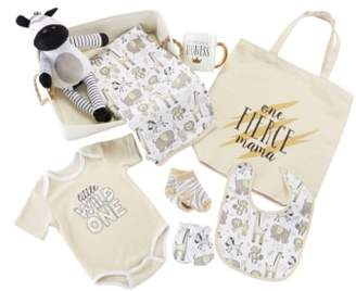 Baby Aspen Safari 9-Piece Baby Gift Set
