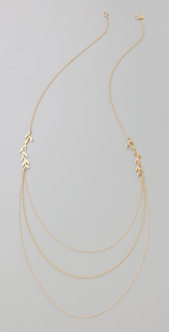 Gorjana Vine Layer Necklace