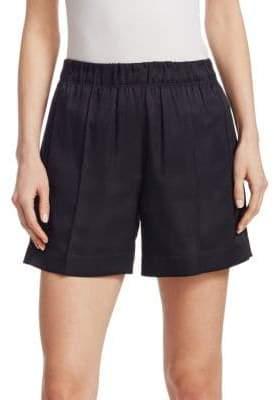Helmut Lang Silk Elasticized Shorts