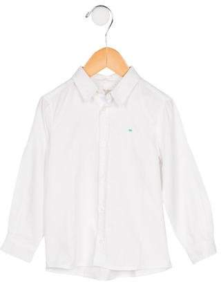 Marie Chantal Boys' Woven Button-Up Shirt