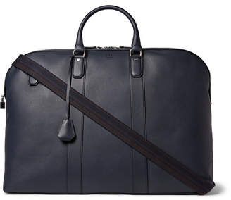 Dunhill Hampstead Leather Holdall - Men - Navy
