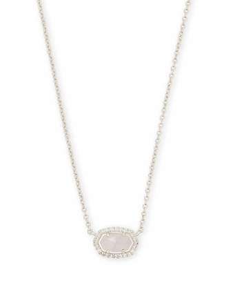 Kendra Scott Chelsea Pendant Necklace in Silver