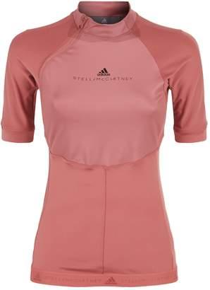 adidas by Stella McCartney Zipped Running T-Shirt