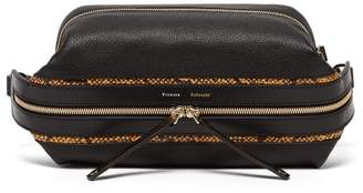 Proenza Schouler Pebbled Leather Belt Bag - Womens - Black Multi