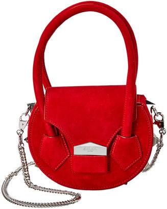 Salar Milano Mimi Soft Suede Shoulder Bag