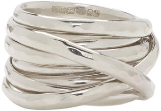 Chin Teo Silver Cage Ring
